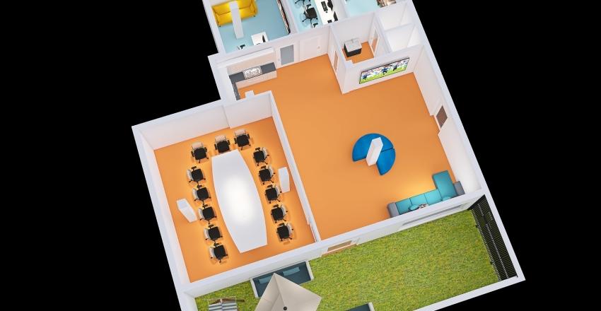Beit Amitnadev Interior Design Render