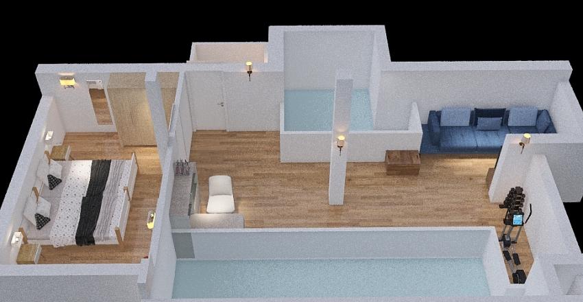 Soppalco Interior Design Render