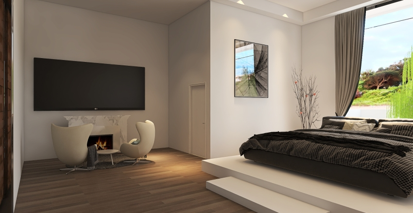 MordernHouse Interior Design Render