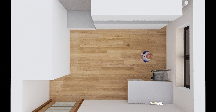 Copy of Pokoik Dziecięcy Interior Design Render