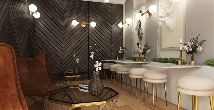 Coffee Shop-2 Interior Design Render