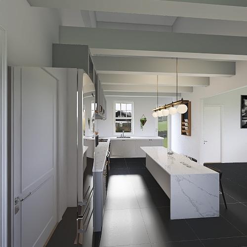 Corps de ferme Interior Design Render