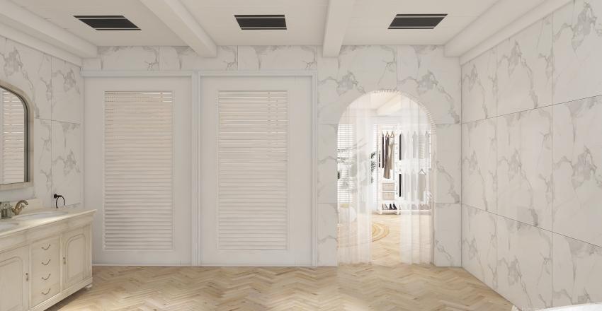 beach-side bach  Interior Design Render