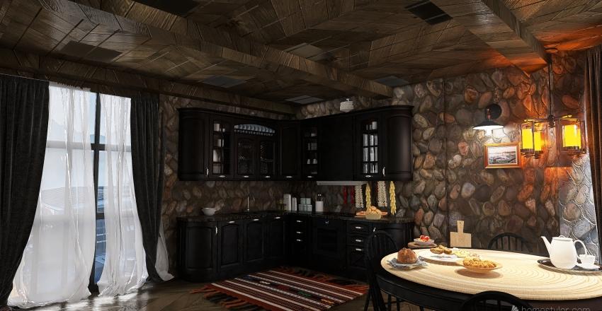 cozy  Interior Design Render