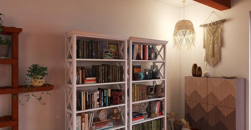Boho Design Interior Design Render