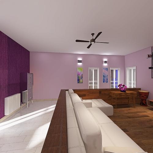 con_infissi_chiari Interior Design Render