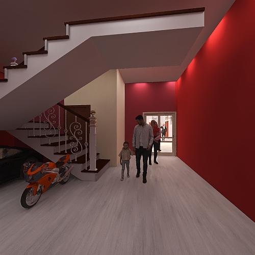 My New House Developing Interior Design Render