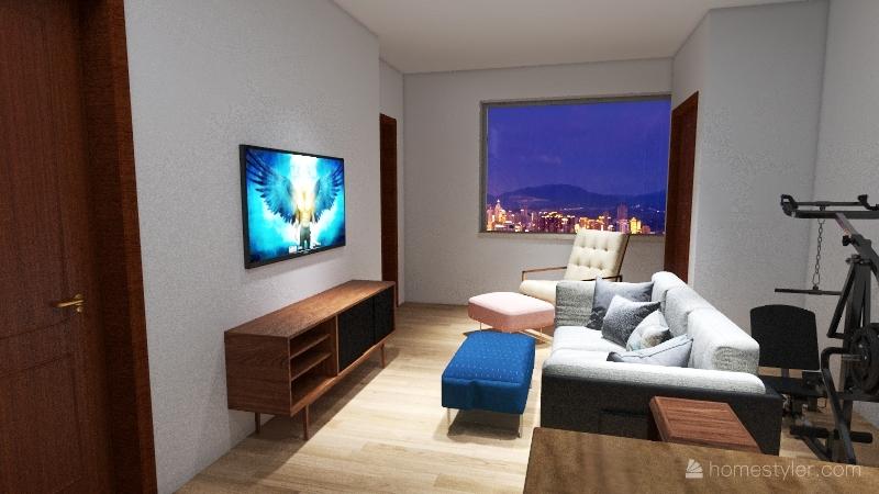 Zen of That Loft Life! Interior Design Render