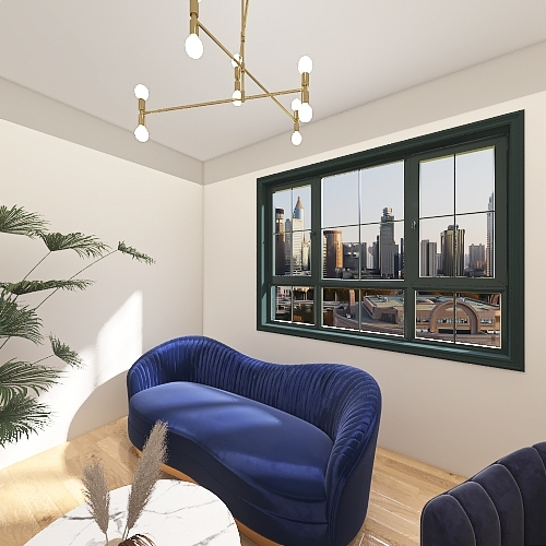 New York Interior Design Render