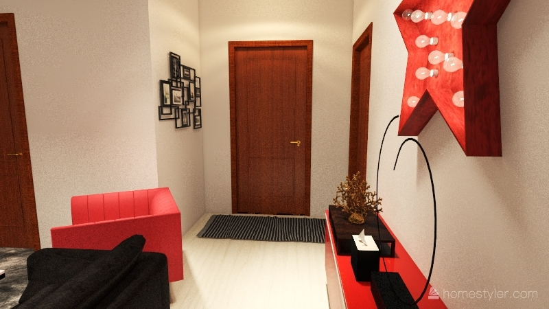 casa de vacaciones Interior Design Render