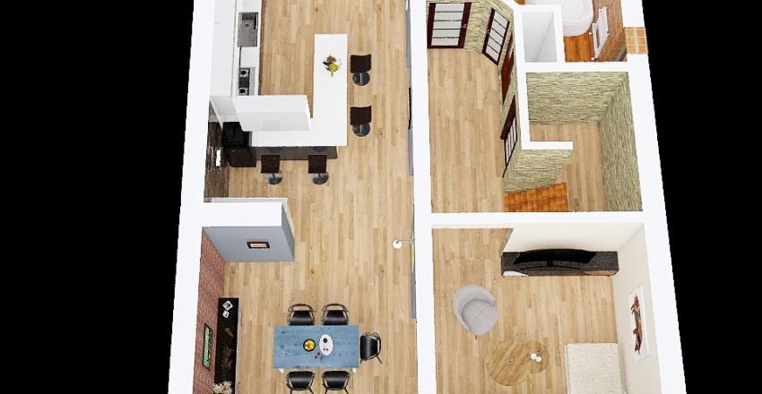 arek gotowy projekt Interior Design Render
