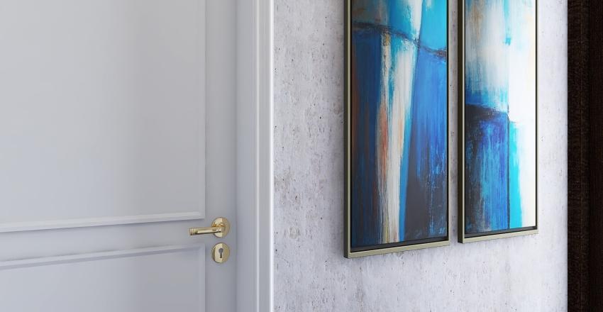 Modern apartment in London Interior Design Render