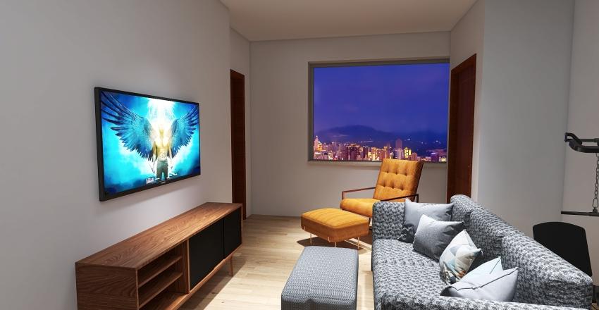 Corner Zen of That Loft Life! Interior Design Render