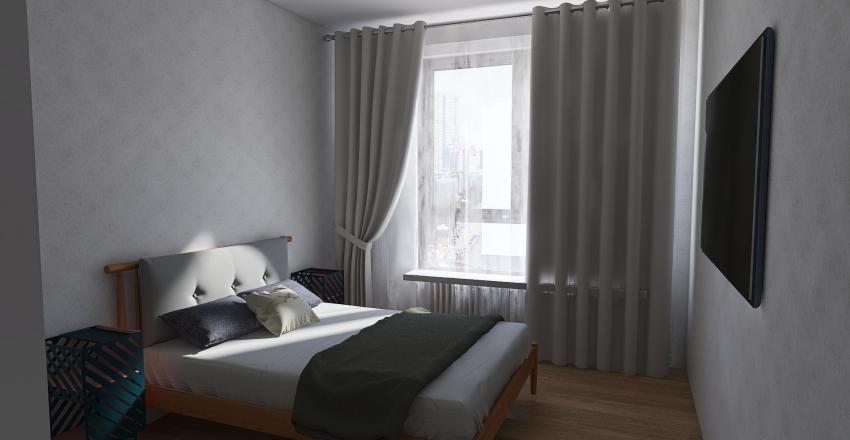 Kuchnia_przy_wejściu Interior Design Render