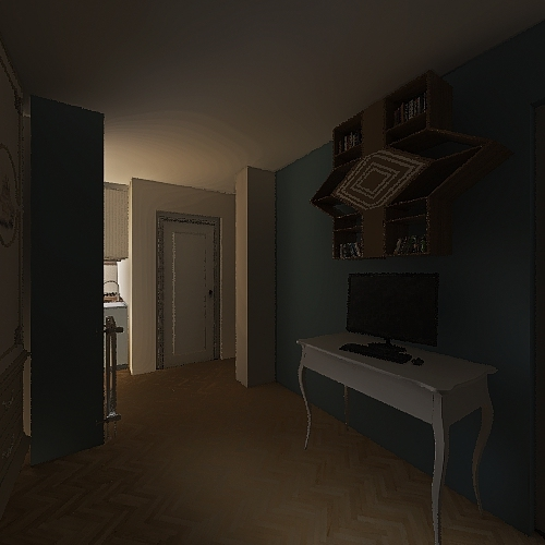 MANSARDA 1 INVERSA Interior Design Render