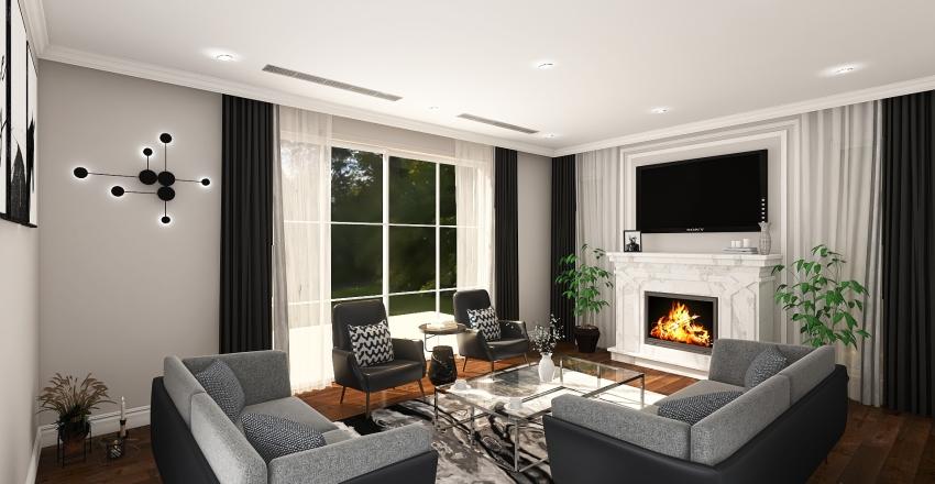 Copy of VILLA ABHA-GROUND FLOOR Interior Design Render