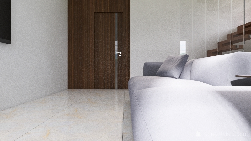 Townhouse v6 Interior Design Render