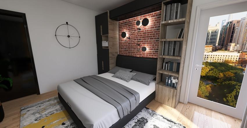 Pokój eryka Interior Design Render