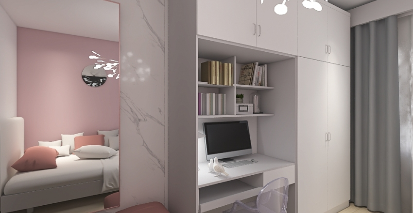 Pokój Mai Interior Design Render