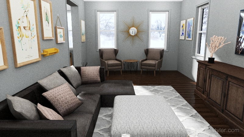 Home Renovation #1 Interior Design Render