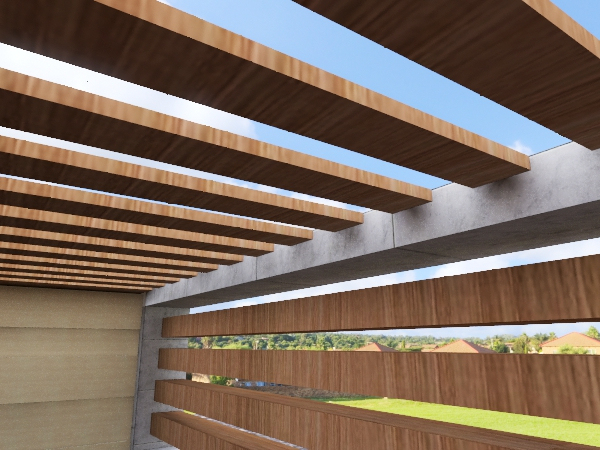The Boho Graden Interior Design Render