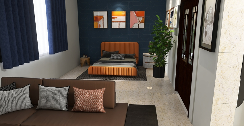 Polyanna's House Interior Design Render