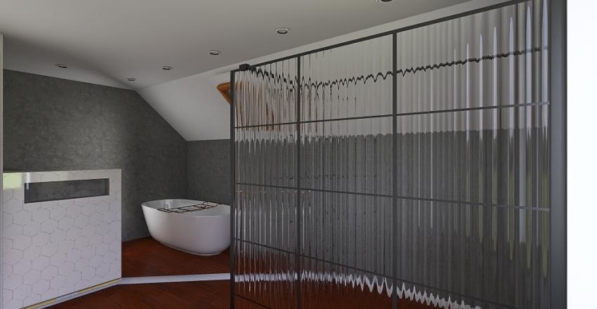 zevenbergen bathroom wooden shower structure2 Interior Design Render