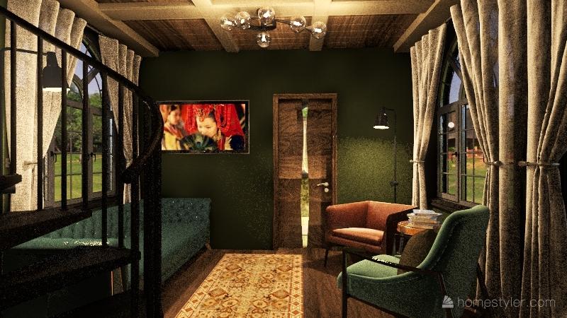 Sky's Loft Interior Design Render