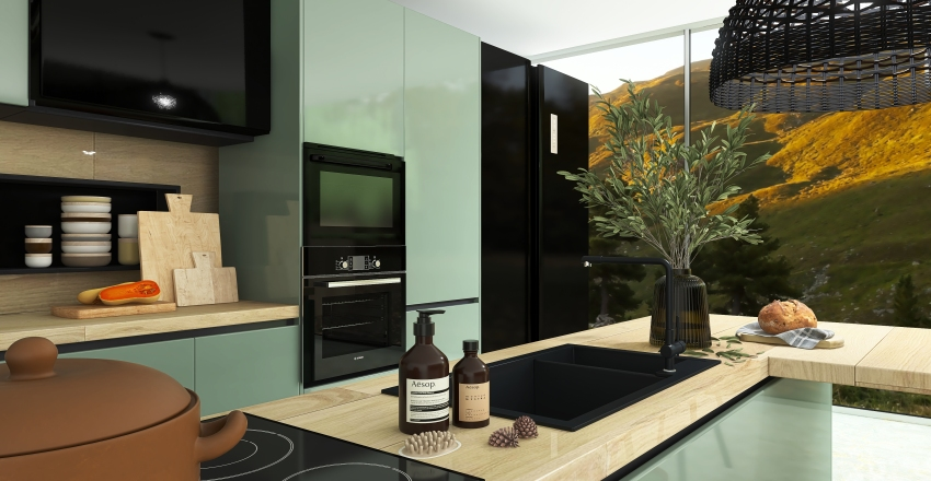 •Modern Exterior• Interior Design Render
