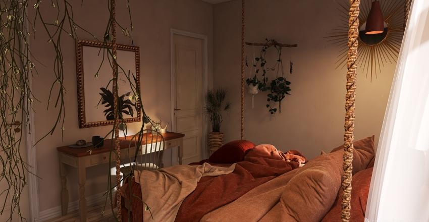 Dream Bedroom Interior Design Render