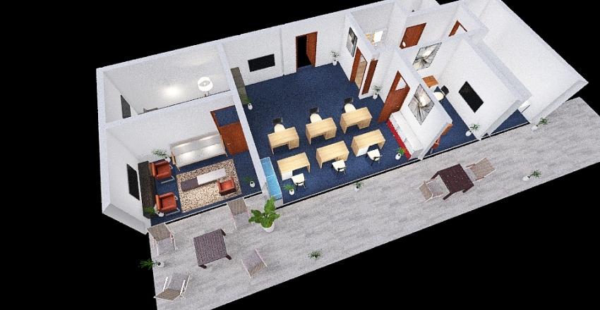 Simon 1 Interior Design Render