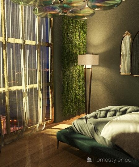 Golden Gate Villa Interior Design Render