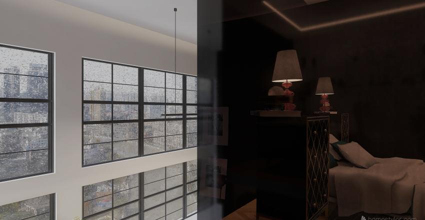 BlackLux-SpaceAndTimeContinuum Interior Design Render