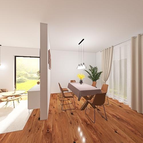 Pfenningerstraße Interior Design Render