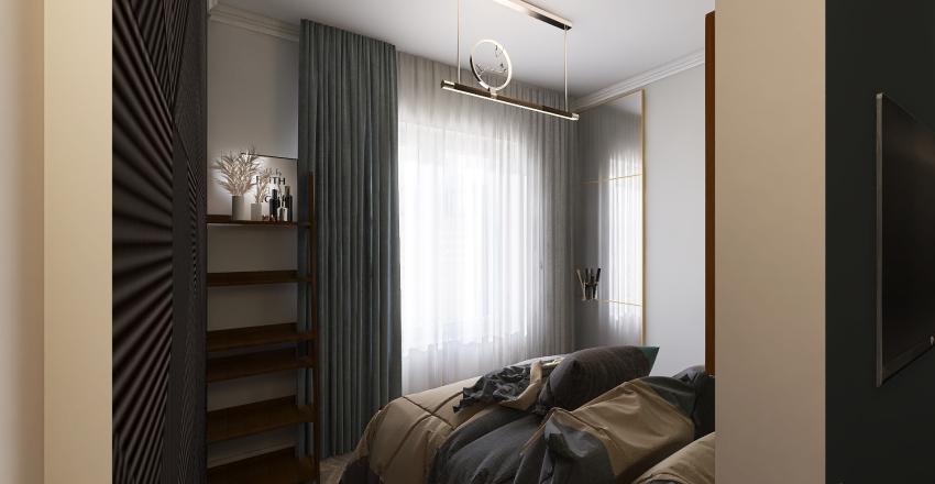 СПб полуторка в белом цвете Interior Design Render