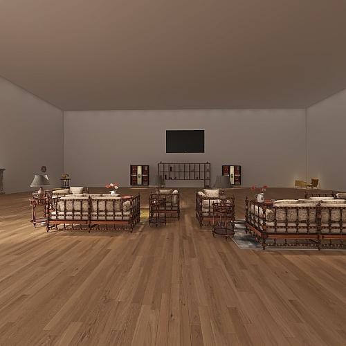 The Beautiful Mansion Interior Design Render