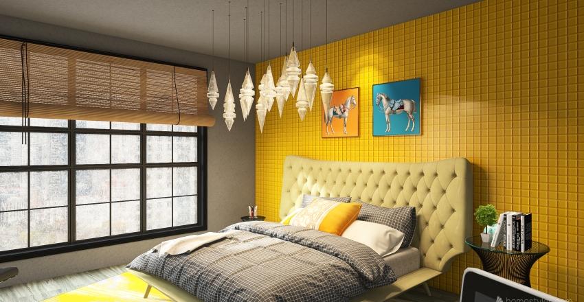habitacion 2 Interior Design Render