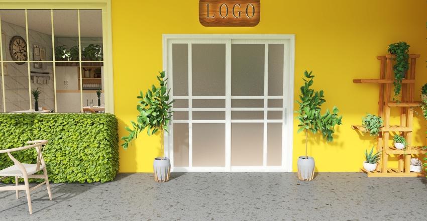 Lucho Café Interior Design Render