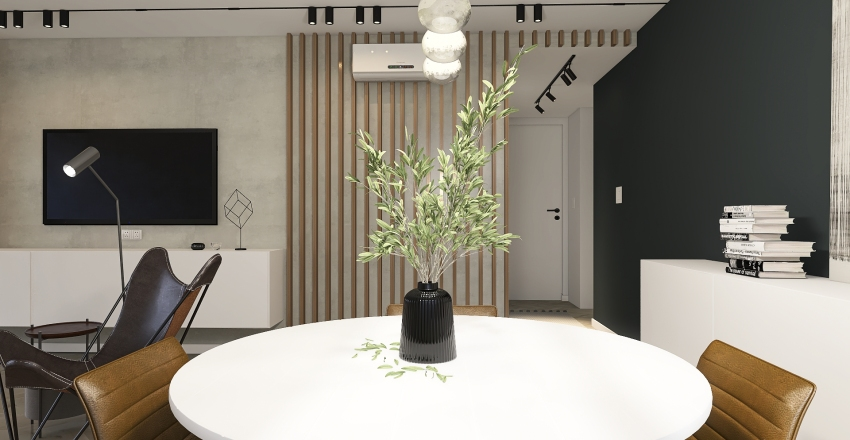 MET VIEW Interior Design Render