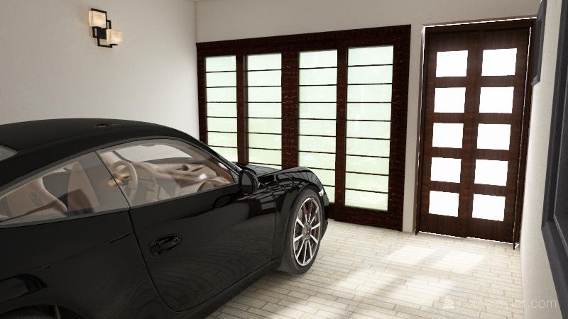 8x20 un nivel Interior Design Render