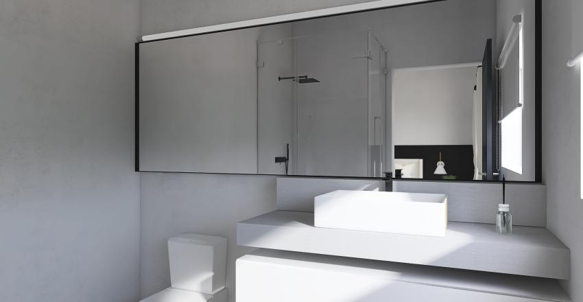Casa Atibaia Interior Design Render