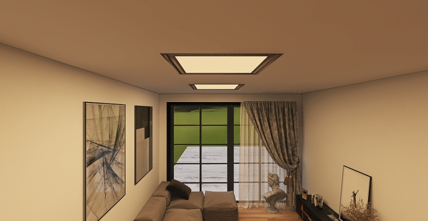 open house  Interior Design Render