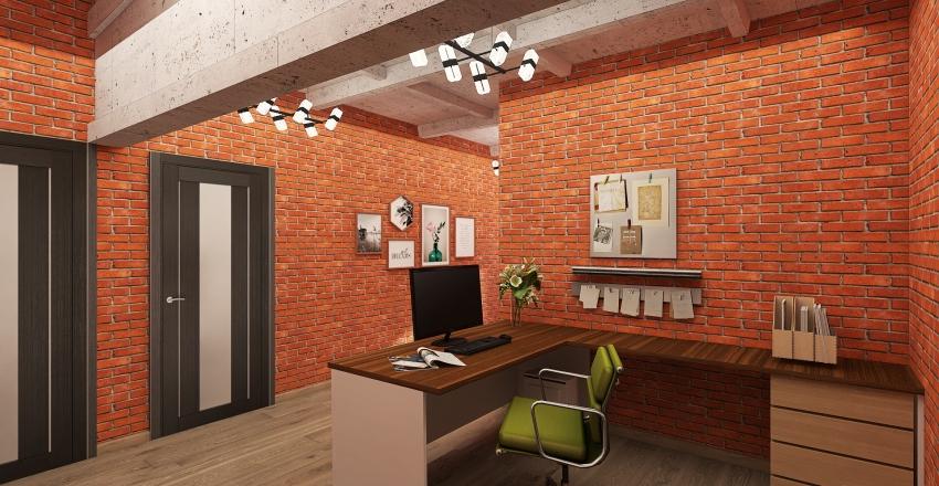 Рыбацкий 3-й этаж Interior Design Render