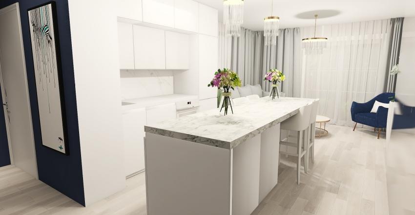 Mieszkanie - końcowy projekt Interior Design Render