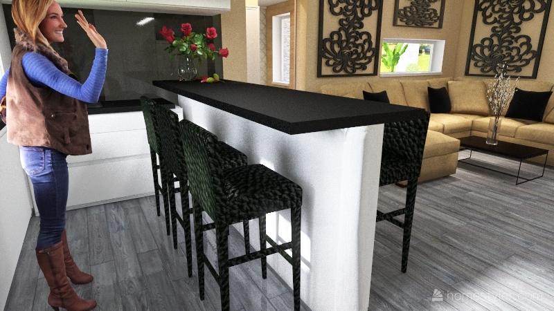 BBTF Házunk Interior Design Render