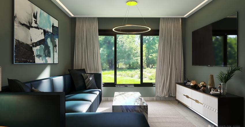L.A. Modern House 2021 Interior Design Render
