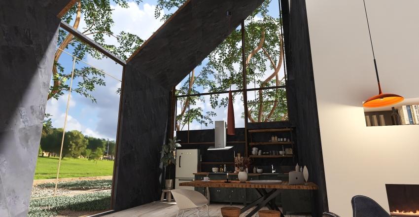 Nature gateway  Interior Design Render