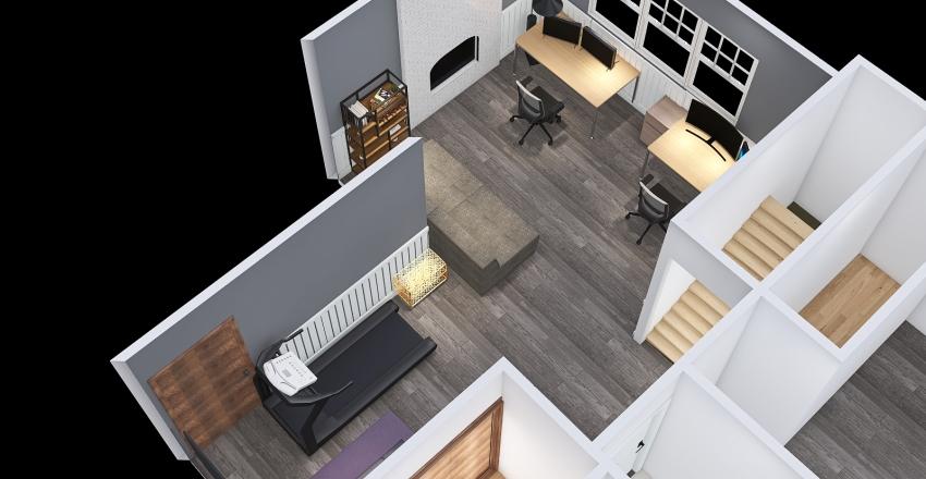 Copy of Basement Interior Design Render