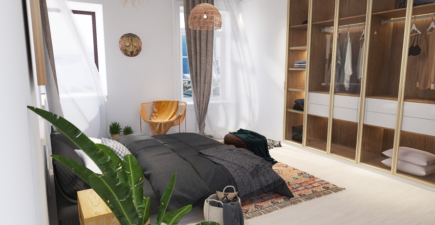 Sleep Time  Interior Design Render