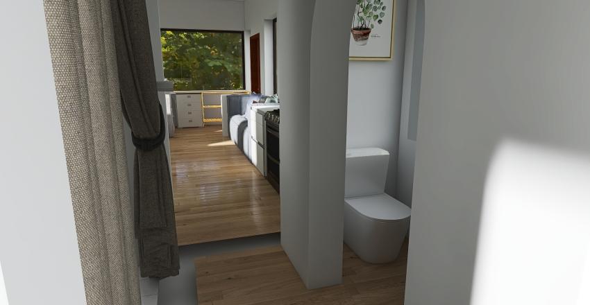 Bus Interior Design Render